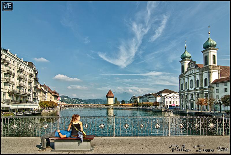 Suiza - Pueblos con encanto Lucerna - El cazador de bancos - Bench Hunter part XLIV