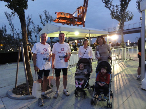My family at JP Morgan Corporate Challenge