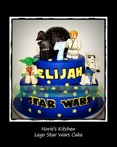 Norie's Kitchen - Lego Star Wars Cake by Norie's Kitchen