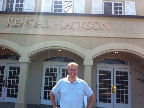Last weekend I had a Kendall-Jackson Grand Reserve in Xiamen, so today I decided to visit the winery in Sonoma!