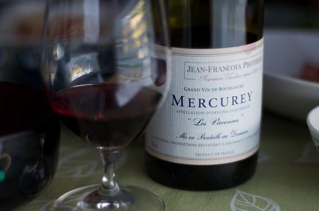 2009 Jean-Francois Protheau Mercurey Les Varennes