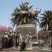 Monumento a San Martin nella Plaza 9 de Julio in Salta (2)