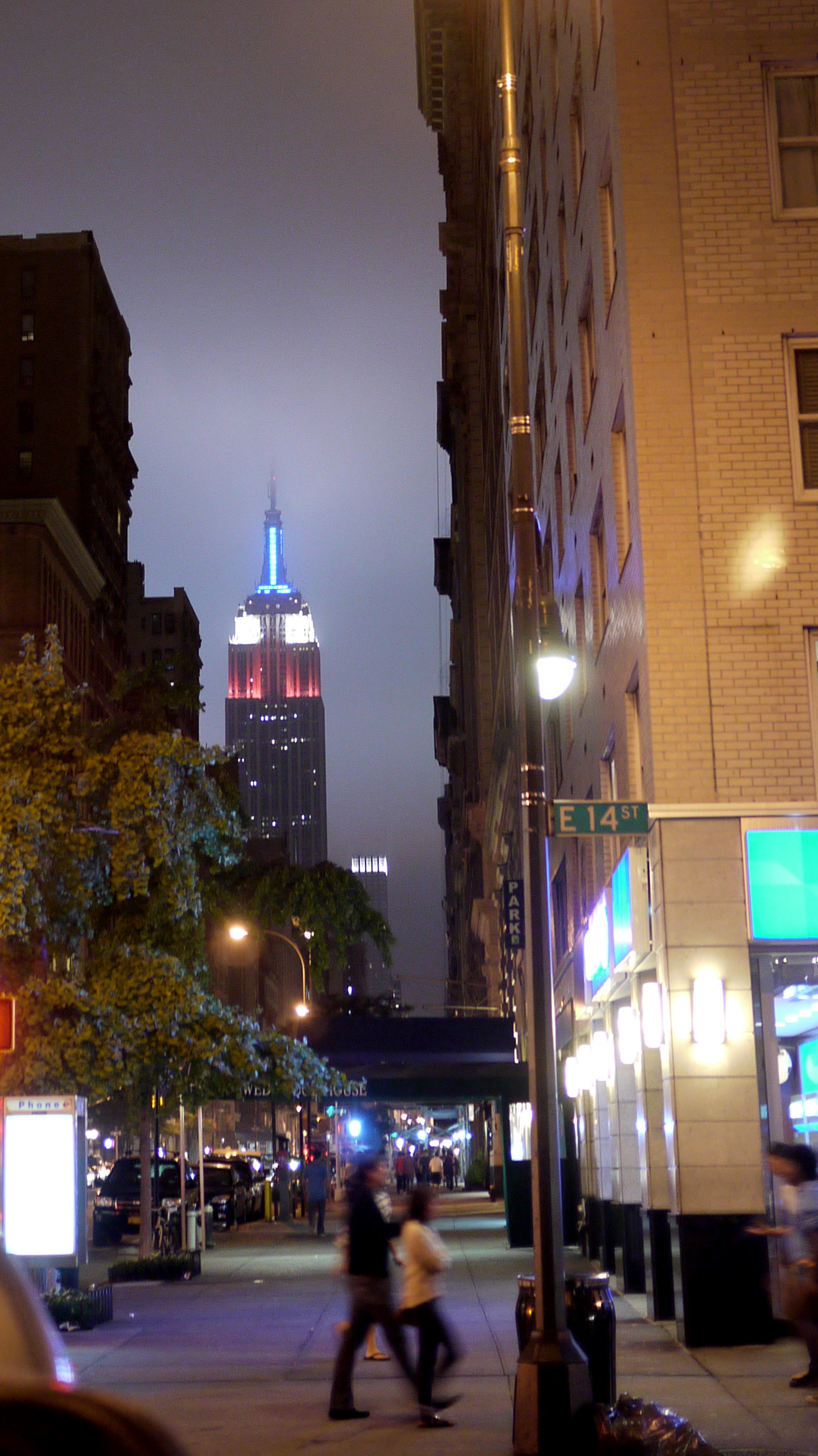 Empire State Building from 5 Av