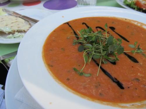 Tomato & Mozzerella Soup