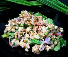 Thai Chicken Salad (Larb Gai) Thai Hhnersalat (thaieyes) Tags: cooking recipe eating recipes rezepte thaifood larbgai rezept thaicuisine saladrecipe thairecipes thaichickensalad salatrezept thailndischekche thailndischkochen thaihhnersalat