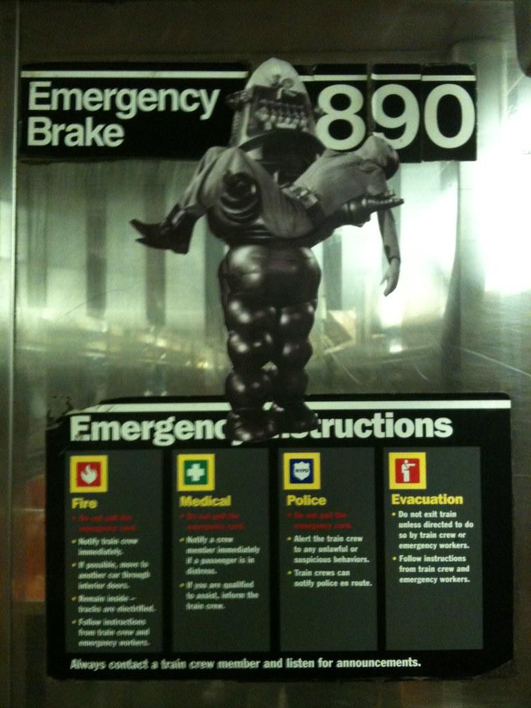 Forbidden Planet / Emergency Instructions