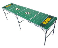 Green Bay Packers Tailgating, Camping & Pong Table