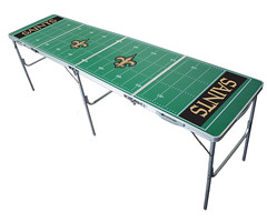 New Orleans Saints Tailgating, Camping & Pong Table