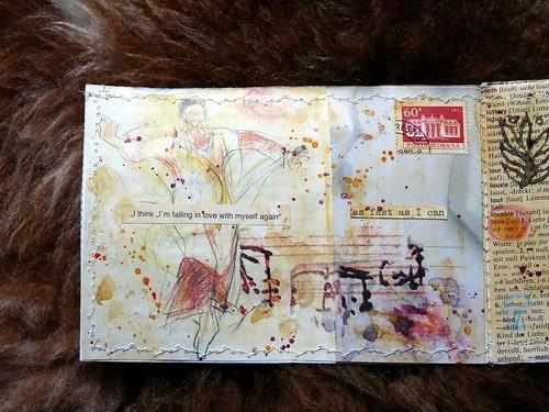 Collage Minibook Coup de Coeur 1