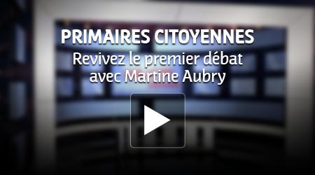 revivez le débat avec Martine Aubry