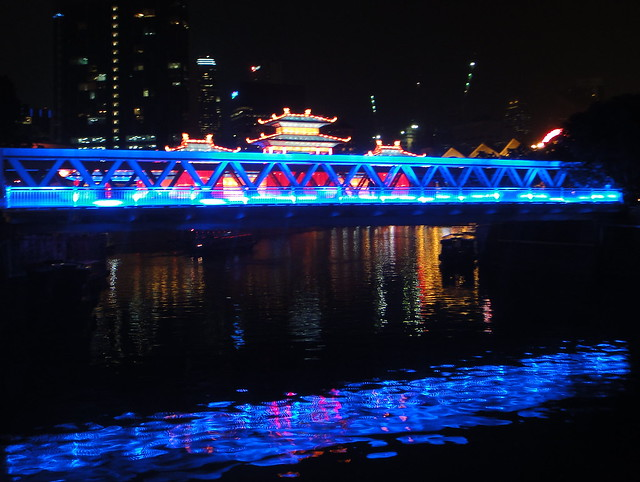 Mid Autumn Festival at Ord Bridge - Clarke Quay, Singapore