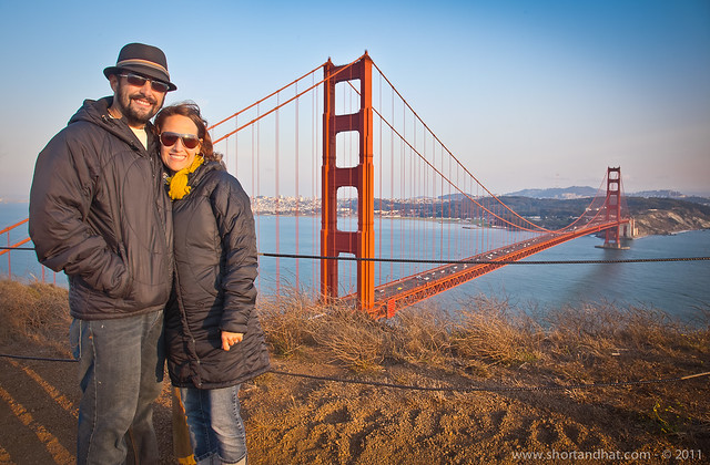 Us at the Golden Gate Bridge