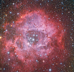 The Rosette Nebula Collaboration (Terry Hancock www.downunderobservatory.com) Tags: camera new york sky mountain field night mi canon stars island photography pier backyard long fotografie photos mark michigan space shed science images astro fremont observatory telescope 49 ii nebula pro 5d astronomy imaging ha alpha ccd universe instruments wo rosette 250 cge celestron hydrogen caldwell tmb fli osc teleskop astronomie byo f7 deepsky monoceros 68mm flattener Astrometrydotnet:status=solved ml8300 130ss Astrometrydotnet:version=14400 92ss Astrometrydotnet:id=alpha20110907519175