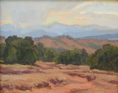 Toward the Jemez Mountains  8 x 10