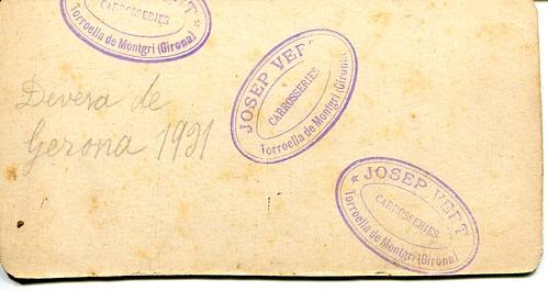 1931 Devesa de Girona segell Vert