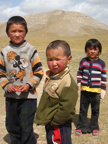 Kyrgyz children.