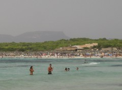 Ses Salines (Mallorca) (durangotarra) Tags: playa salinas veraneo