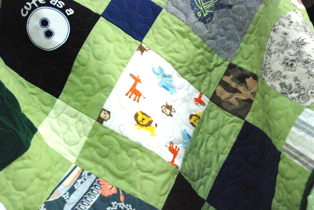 Close up Quilting