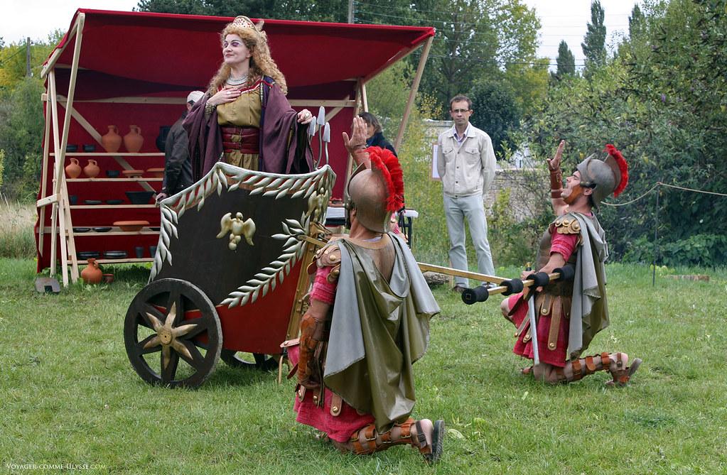 Pièce de Théâtre, Agrippine à la recherche de son fils Néron