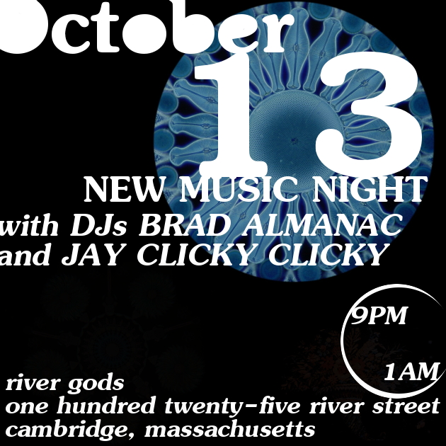New Music Night with Brad Almanac + Jay Clicky Clicky | River Gods | 11 August