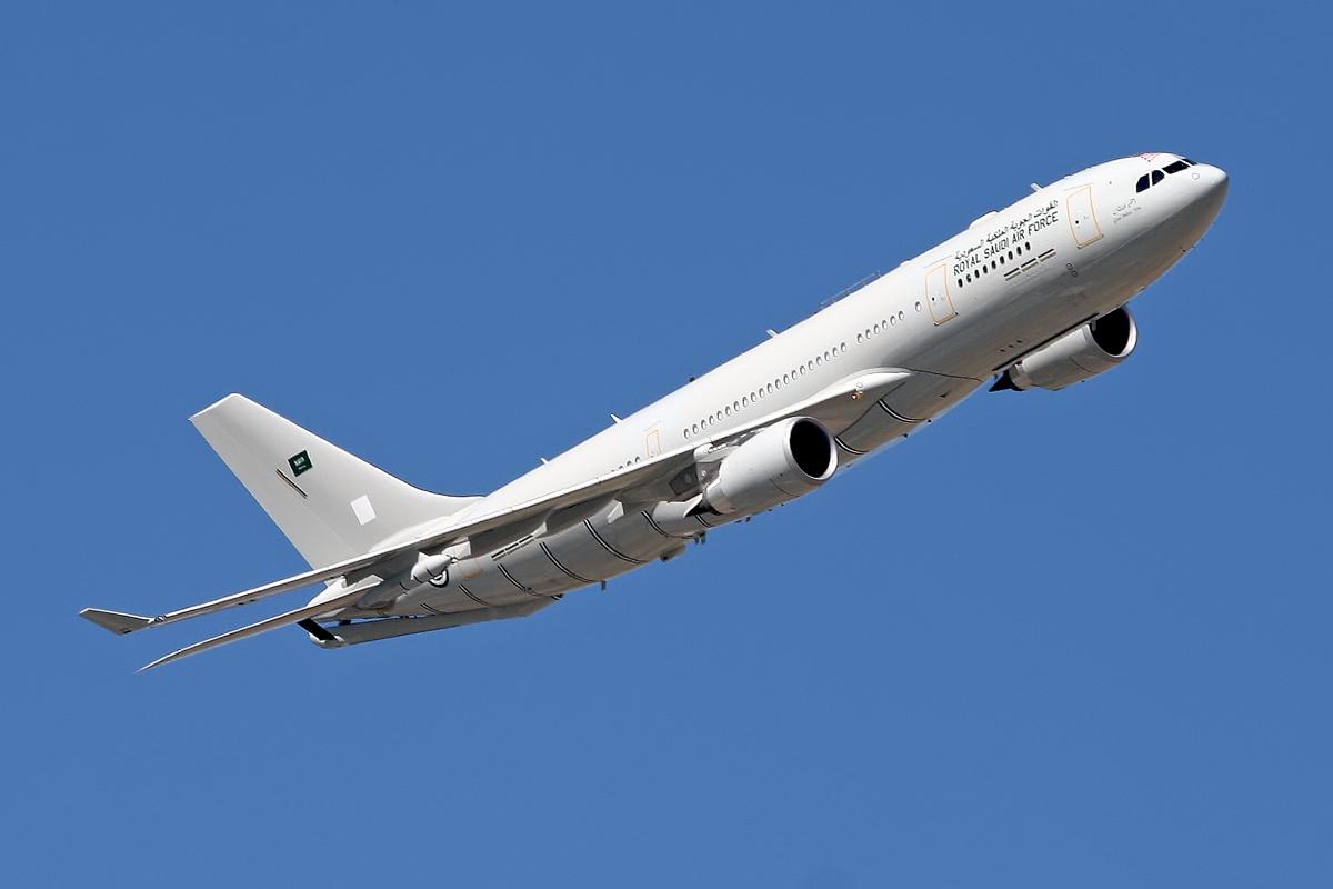 A330MRTT RSAF. Fotos Ricardo Torija Díez