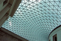 British Museum Great Court Roof (acwatson1z) Tags: roof london canon britishmuseum greatcourt canonpowershotsx220hs