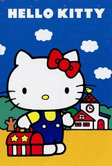 Hello Kitty Post Card 1 (This and That From Japan) Tags: cute japan cat japanese message mail hellokitty character postcard cartoon sanrio card bow kawaii postcards letter ribbon cuteness stationery stationary