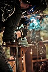 weld (f.larkin) Tags: hot industry bronze fire iron artist industrial glow steel weld flame smokestacks heat melt grime furnace sparks ladel relic molten ironore sloss blastfurnace slossfurnaces metalarts d902004 f64g37r4win f64g37champ