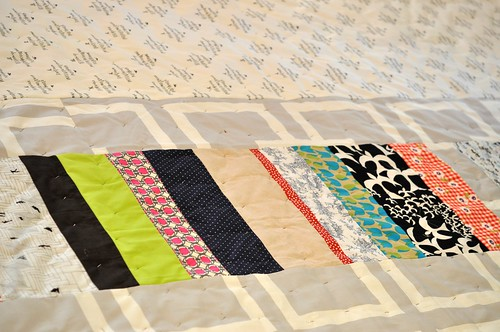 Mary's quilt - back