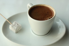 """Coffee is the perfume of morning."" (ozenelif) Tags: white coffee delight turkish"