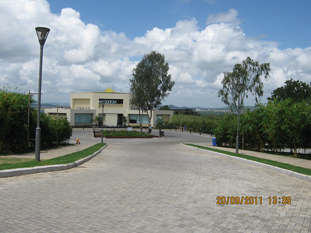 "Site Office of 421 Acre Kolte-Patil I-Ven ""Special"" Township at Marunje Hinjewadi Pune"