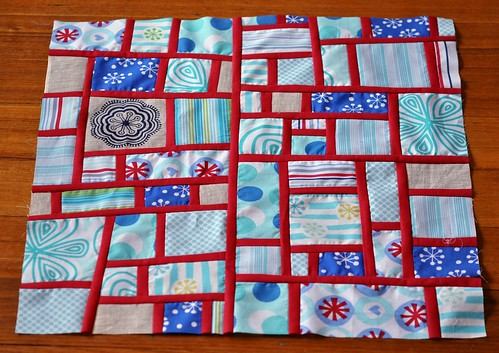 Andi's mod mosaic block for Tanya