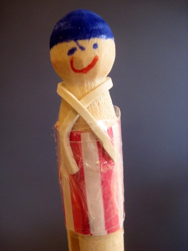 How To Make A Peg Doll