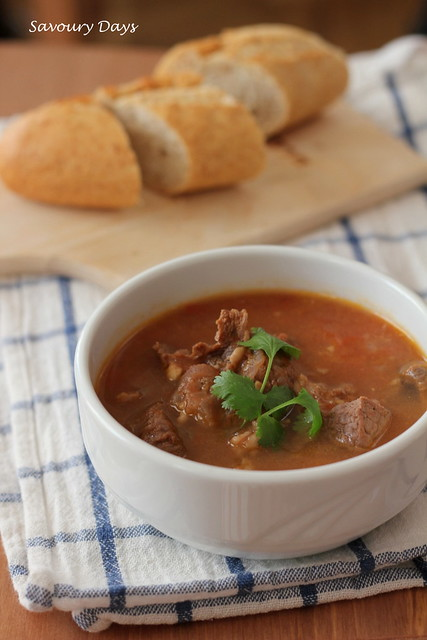 (red wine) Beef stew
