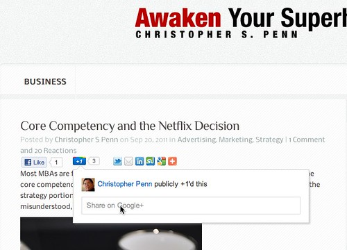 Christopher S. Penn's Awaken Your Superhero