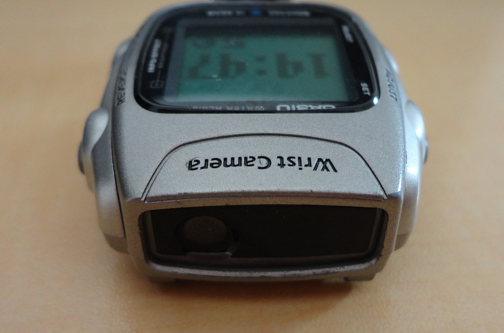 Casio WQV-2 Wrist Camera Watch Lens