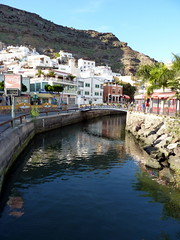 Gran Canaria - Puerto de Mogan in the winter
