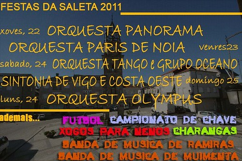 Cea 2011 - Festas da Saleta - programa