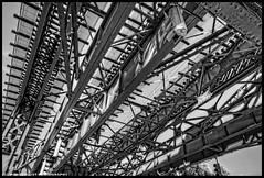 SOUTH BRONX (WNDLST) Tags: newyorkcity urban newyork publictransportation thebronx hdr nycsubway southbronx elevatedtrains elevatedtraintracks