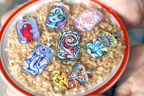 Lucid Art Pendents