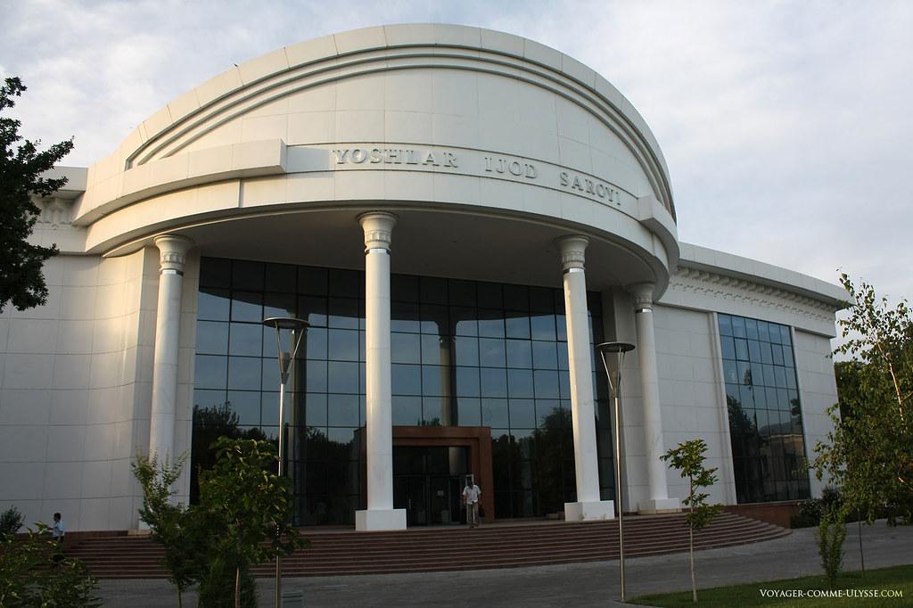 L'architecture ouzbèk moderne reprend les codes des anciens bâtiments