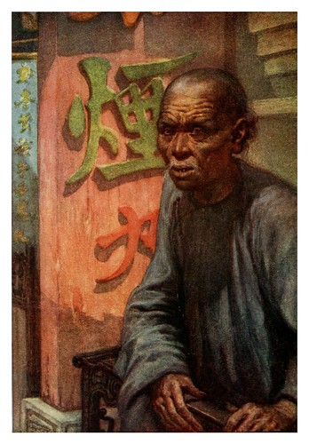 007- Un coolie anciano-China 1910- Norman H. Hardy