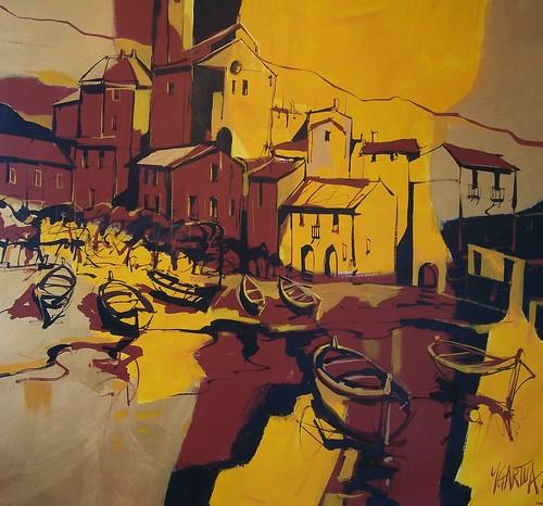 Cadaques   Modern Painting - original