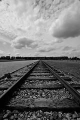 Rail to dispair (Christian_Ramirez) Tags: nazis poland krakow rails blacknwhite auschwitz deathcamp