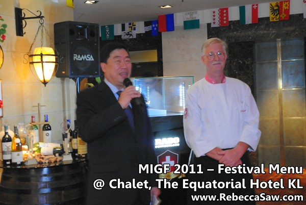 migf 2011 - the chalet equatorial hotel