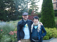 Lisa and Dave at the flower gardens