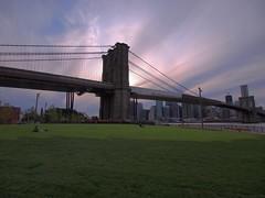 Brooklyn Bridge Park (beanhead4529) Tags: park city newyorkcity bridge urban brooklyn manhattan brooklynbridge eastriver suspensionbridge brooklynbridgepark