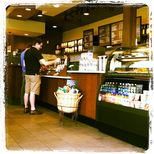 Starbucks in Vancouver looks pretty much the same