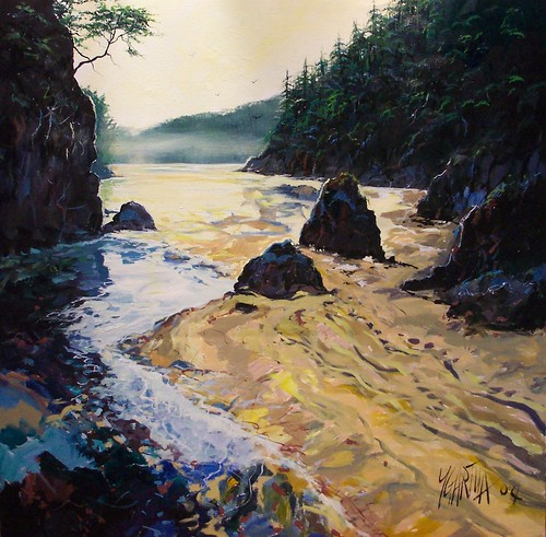 Vancouver Island - Painting - Realism