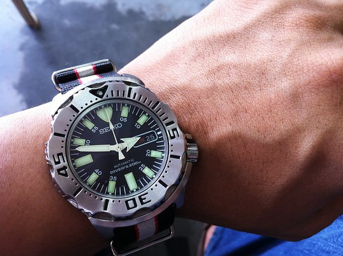 Seiko SKX779 Black Monster